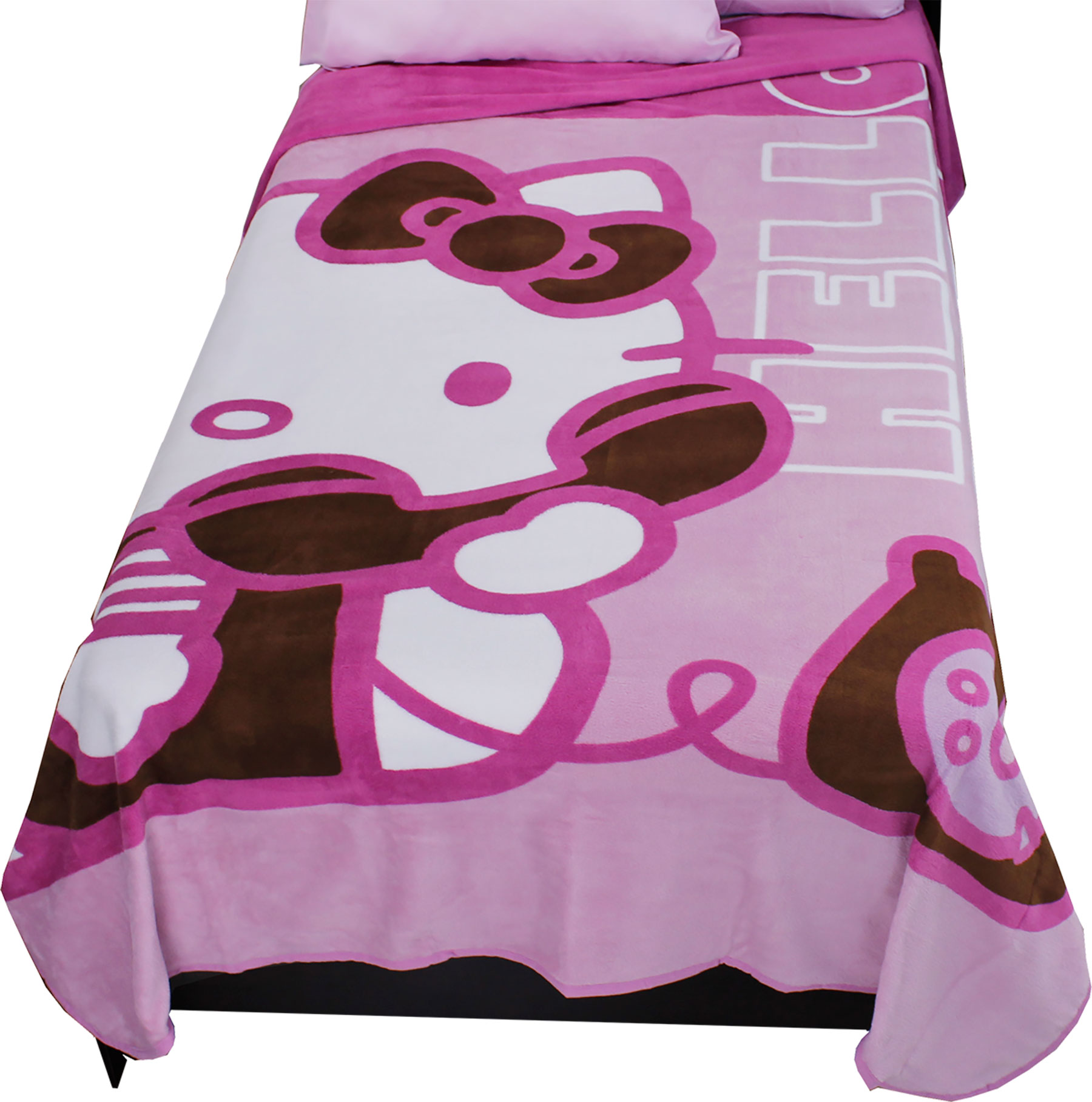25972fe9a5 Sanrio Hello Kitty Twin Blanket Ring Ring Telephone Bedding Cover