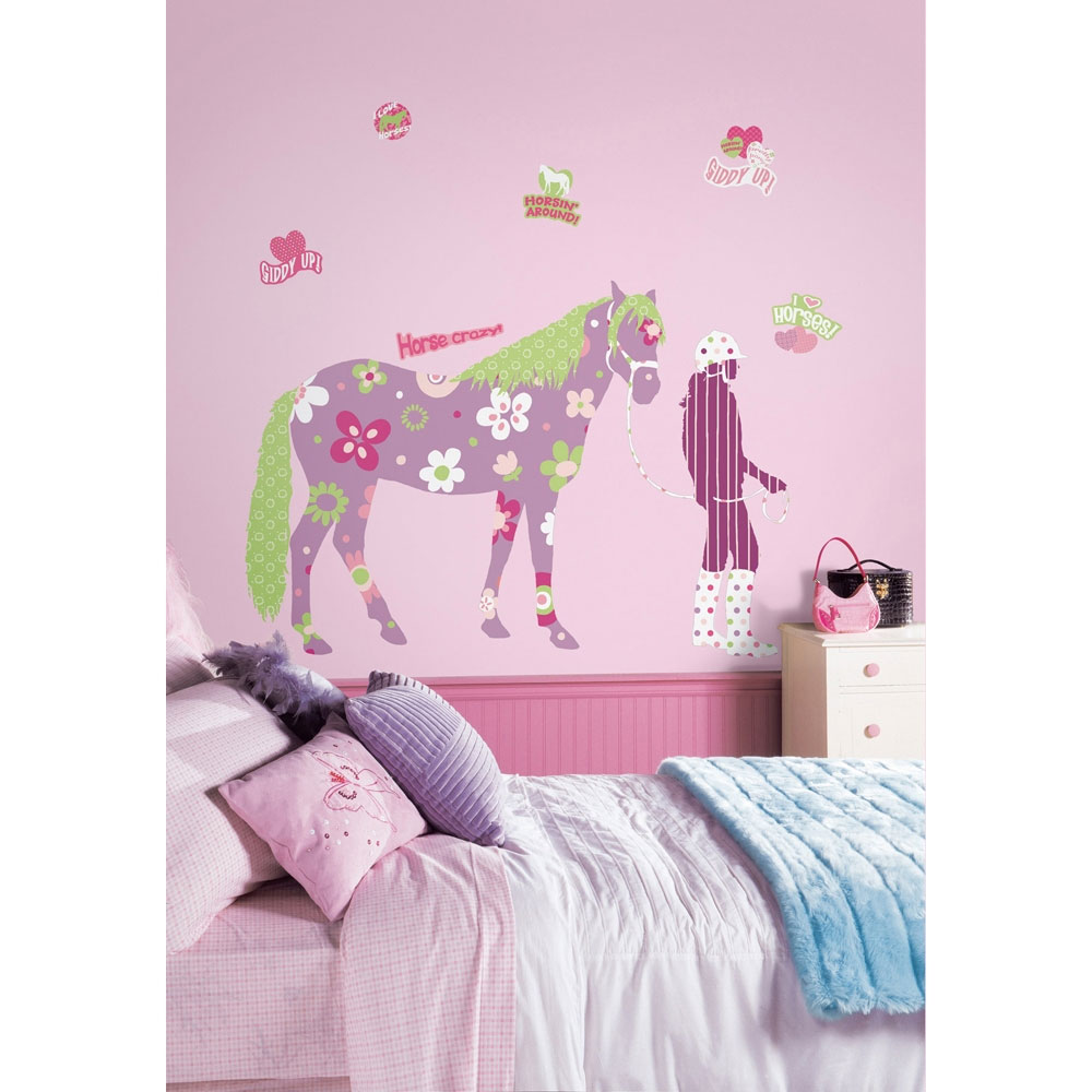 Horse Wall Accent Sticker Set