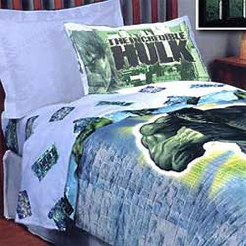 Details about nEw INCREDIBLE HULK Marvel Comic FULL BEDDING COMFORTER