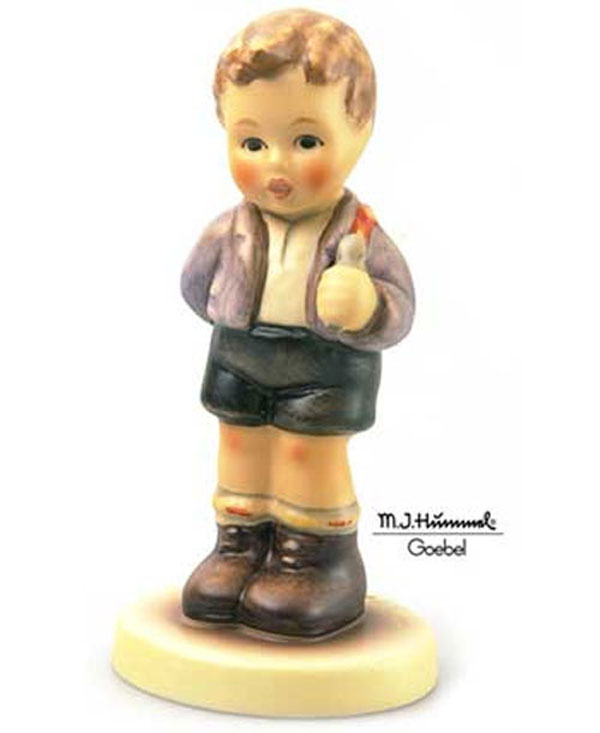 Hummel Figurine - No Thank You