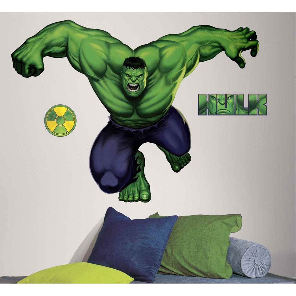 Marvel Comics Incredible Hulk Giant Wall Accent Sticker