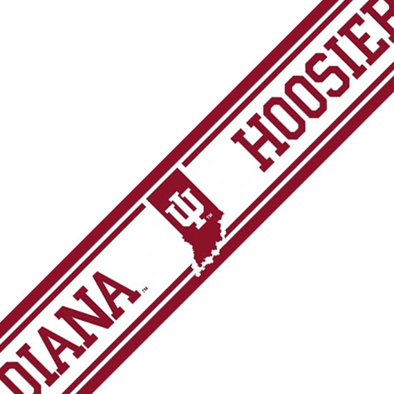 NCAA Indiana Hoosiers Prepasted Wallpaper Border Accent Roll at Sears.com