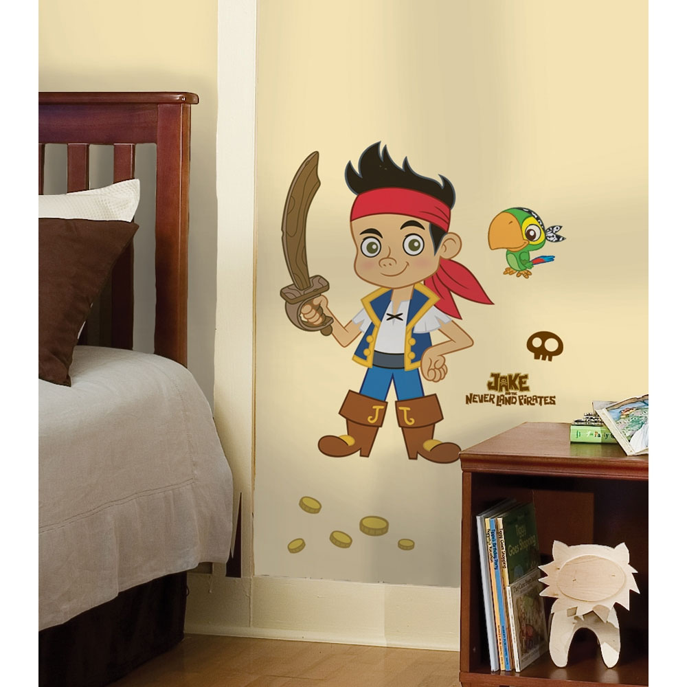 Disney Jake Neverland Pirates Sticker Set