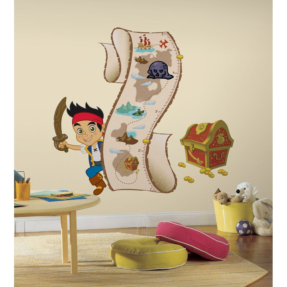 Jake Neverland Growth Chart Wall Decal
