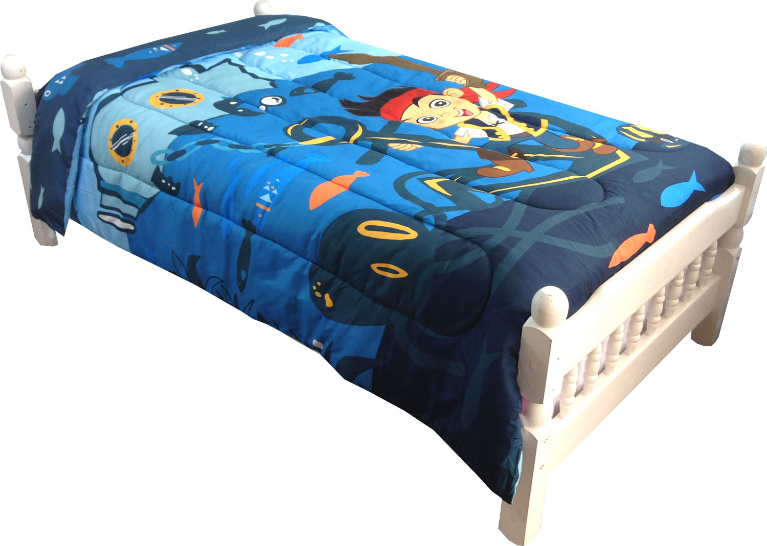 Jake Neverland Pirates Twin Comforter
