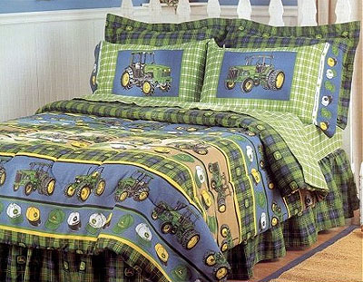 Clearance Boys Bedding on Kids Bedding Boys Full Size On John Deere Bedding Comforter Set
