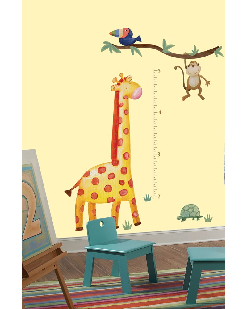 Jungle Adventure Growth Chart Accent