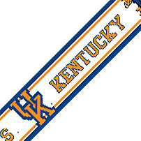 NCAA Kentucky Wildcats Prepasted Wallpaper Border Roll at Sears.com