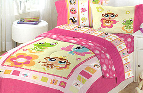 Littlest Pet Shop Comforter Set Full Girls Nature
