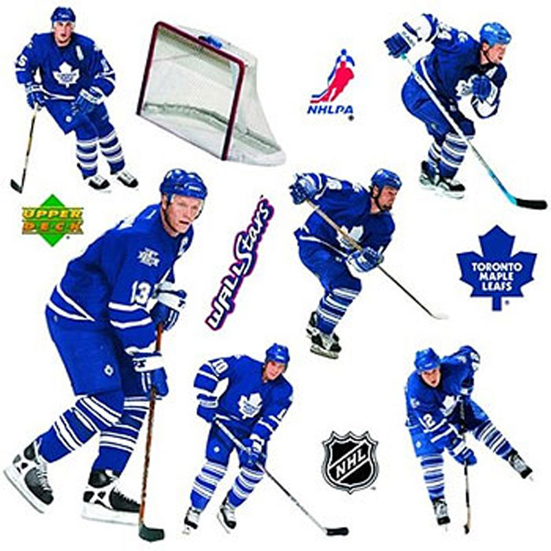 NHL Toronto Maple Leafs - Hockey Wall Stickers-Decals - Sports Decor
