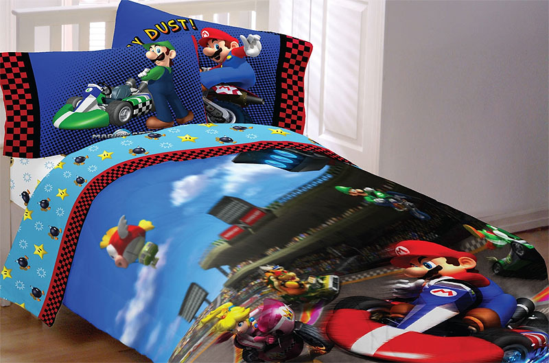 Super Mario Race Bedding