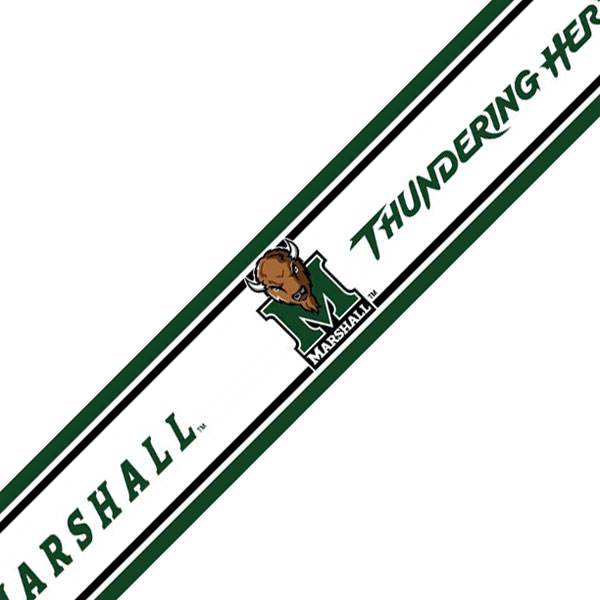 NCAA Marshall Thundering Herd Prepasted Wallpaper Border at Sears.com