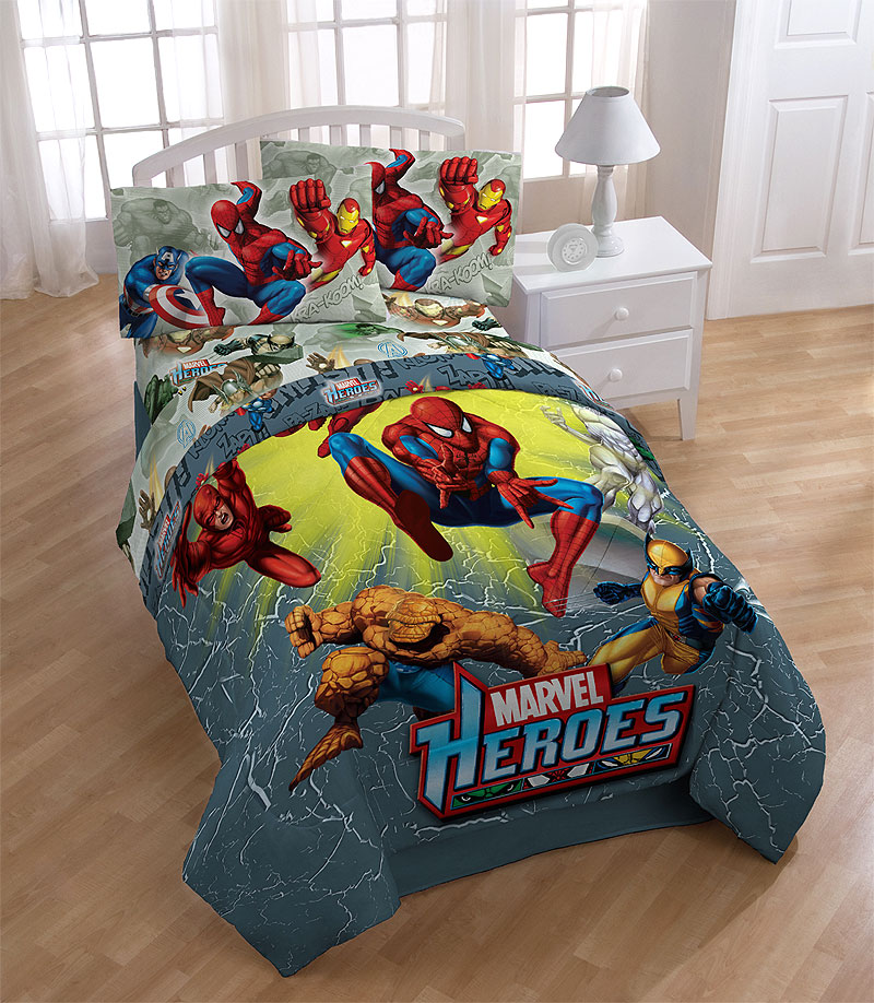 marvel comforter set full 5pc wolverine bedding set full bed