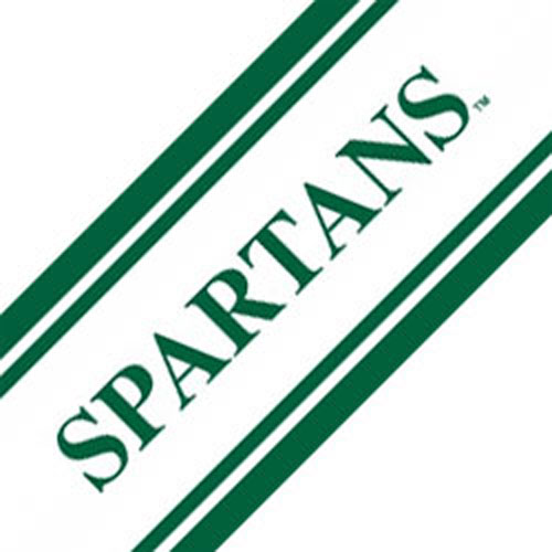 NCAA Michigan State Spartans Prepasted Wallpaper Border Roll at Sears.com
