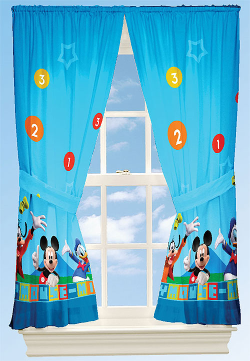 Laura Ashley Shower Curtains Mickey Mouse Clubhouse Sh