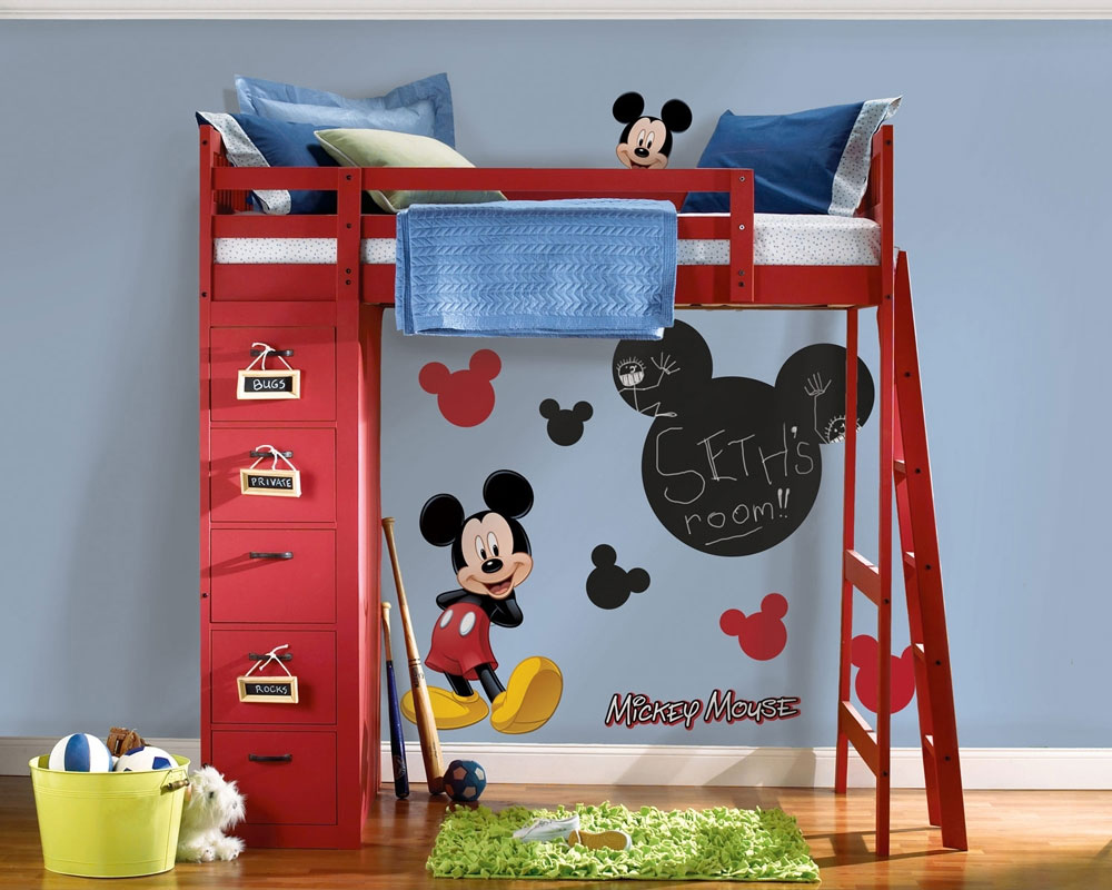 Mickey Mouse Chalkboard Wall Accent Set