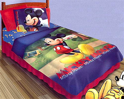mickey mouse clubhouse comforter set disney mickey twin bedding