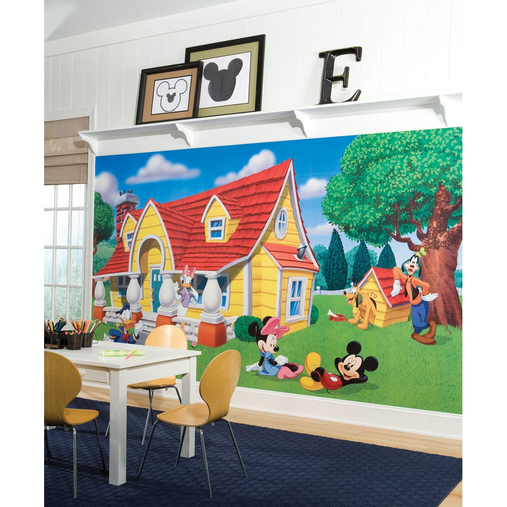 Extra Large Mickey & Friends Wall Mural