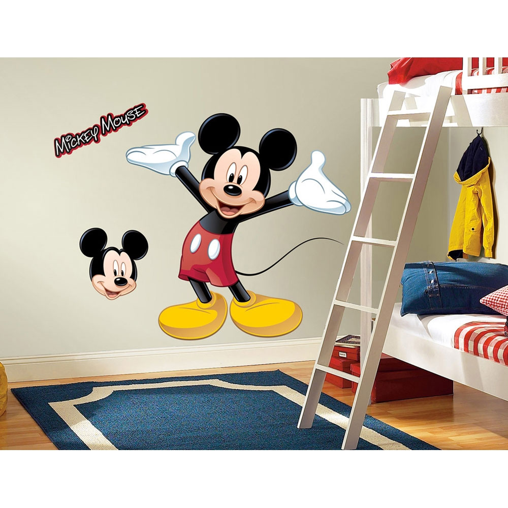 Disney Mickey Mouse Wall Sticker Set