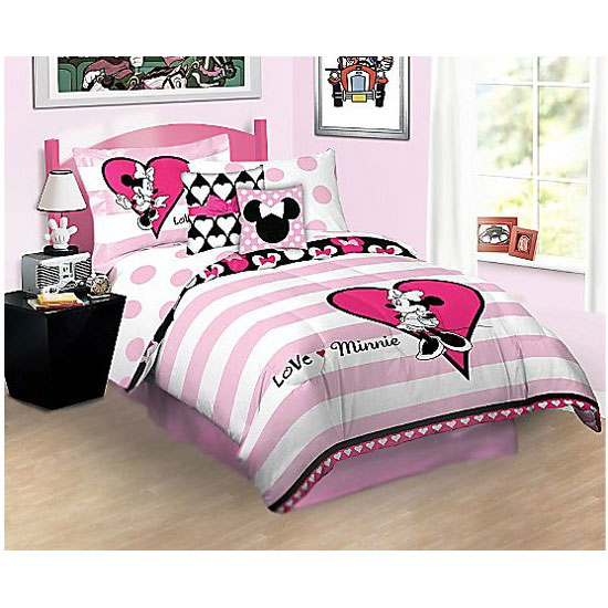 Disney Minnie Mouse Bed Sheet Set