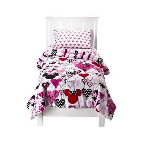 Minnie Mouse 4pc Twin Bedding Set