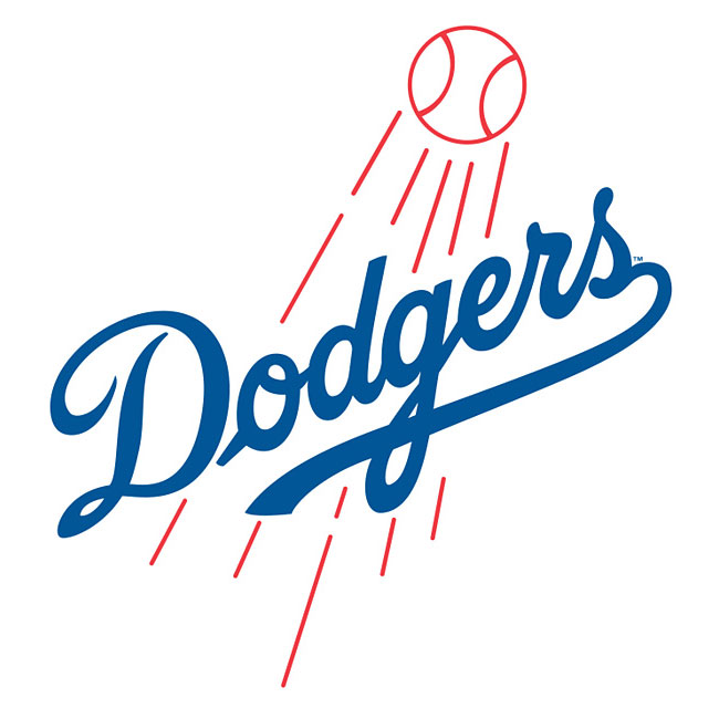 Mlb La Dodgers Wall Accent Baseball Mural Stickers Set Clipart - Free Clip Art Images - Fat Head Wall Stickers