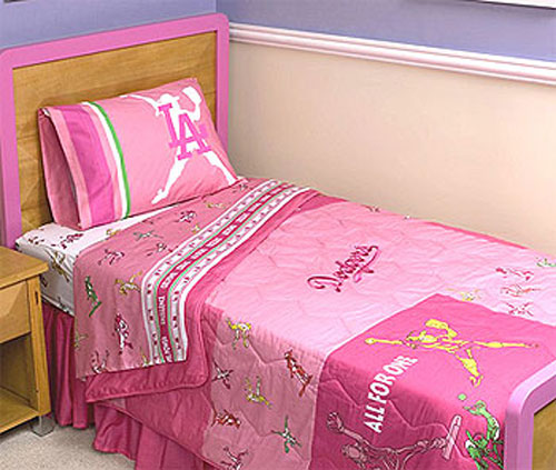 Dodgers Bedding For Twin Bed