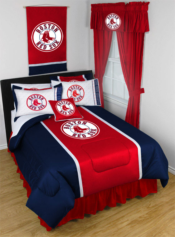 2 Pack MLB Red Sox Pillowcases - Boston Baseball Bed Accessories