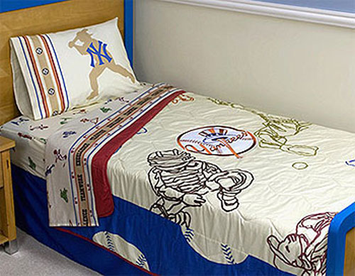 New York Yankees Boys Ny Baseball Bed In A Bag Twin