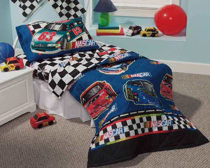 NASCAR Checkered Flag - COMFORTER - Toddler Size - Boys ...