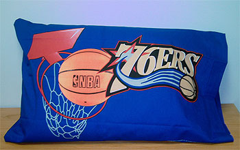 NBA Basketball - Philadelphia 76ers - Phillies Pillowcase - Pillowcover
