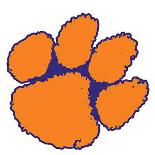 clemson football logo coloring pages - photo#33