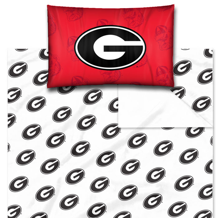 Georgia bulldogs for Georgia bulldog bedroom ideas