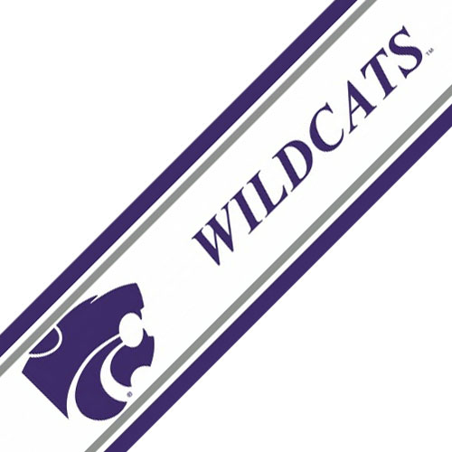 NCAA Kansas State Wildcats Prepasted Wallpaper Border Roll at Sears.com
