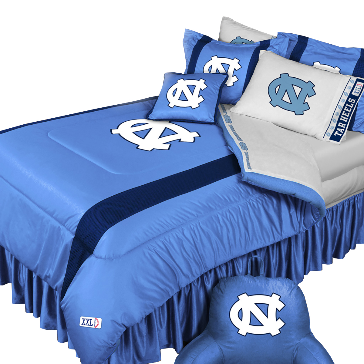 North Carolina Tar Heels Queen-Full Comforter Set