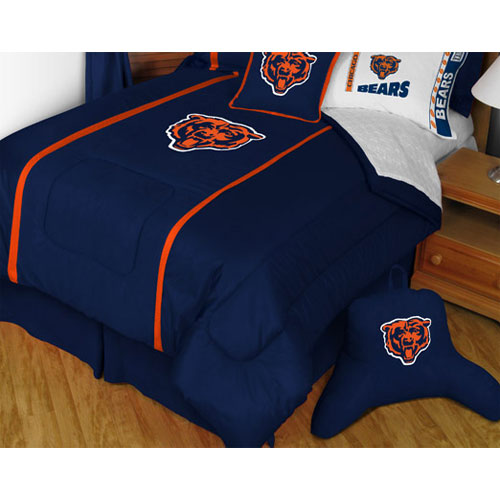 NFL Chicago Bears Comforter Football MVP Bedding