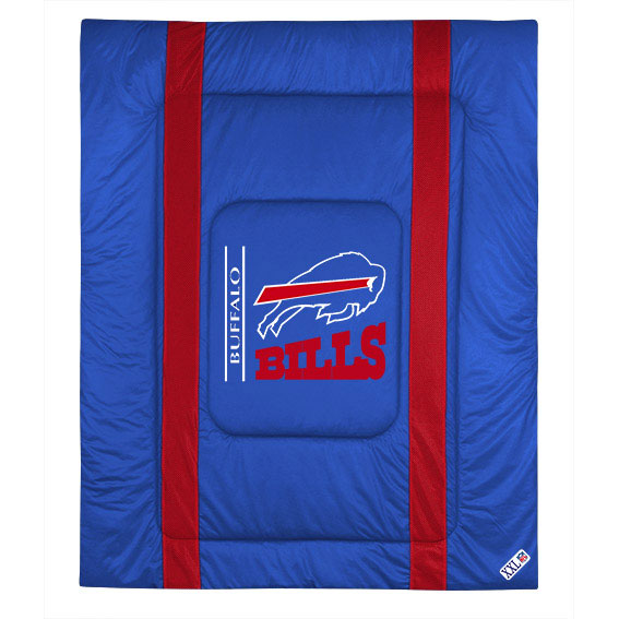 NFL NFL Buffalo Bills Comforter Sidelines Football Bed