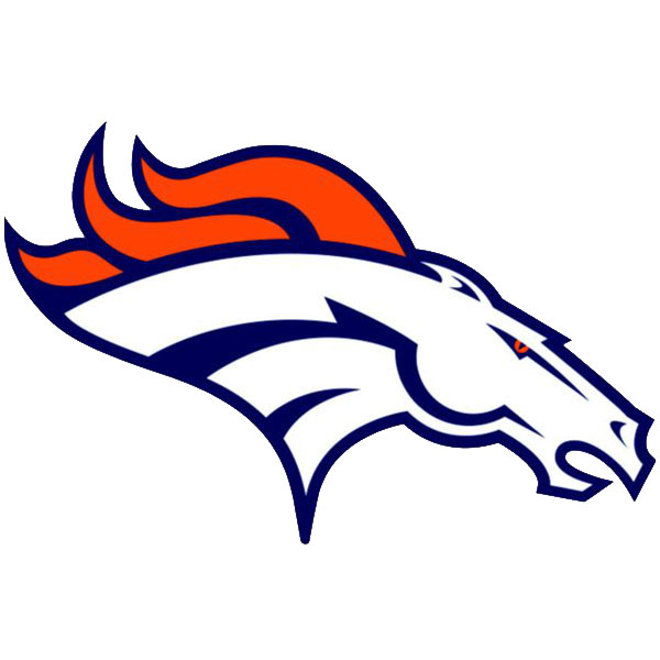 NFL Denver Broncos Teammate Logo Wall Sticker Decal