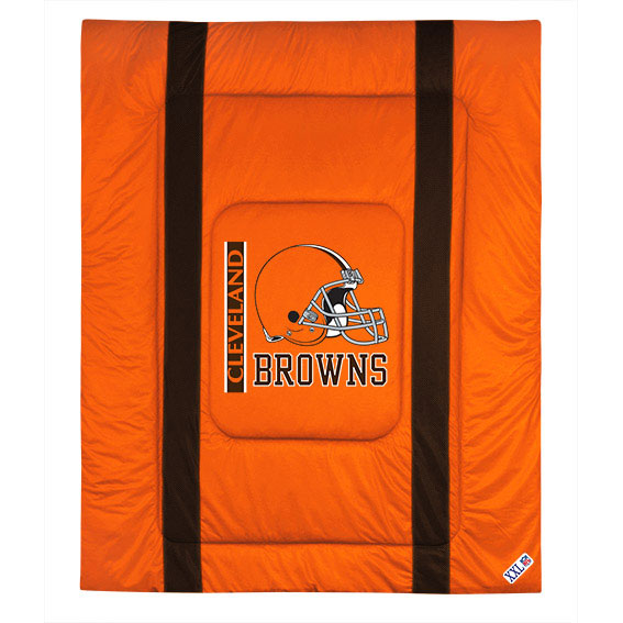 NFL Cleveland Browns Comforter Sidelines Football Bed