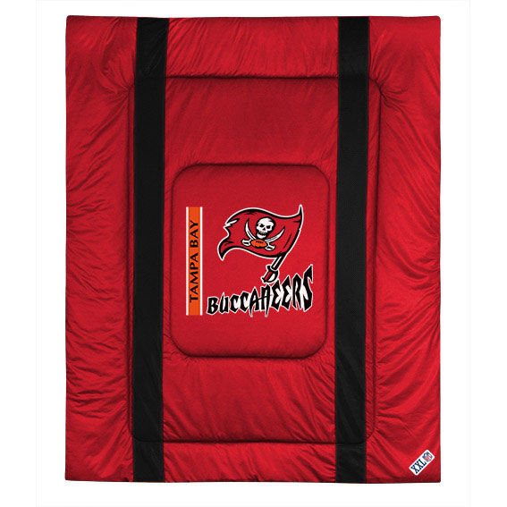 NFL Tampa Bay Buccaneers Comforter Sidelines Football Bed