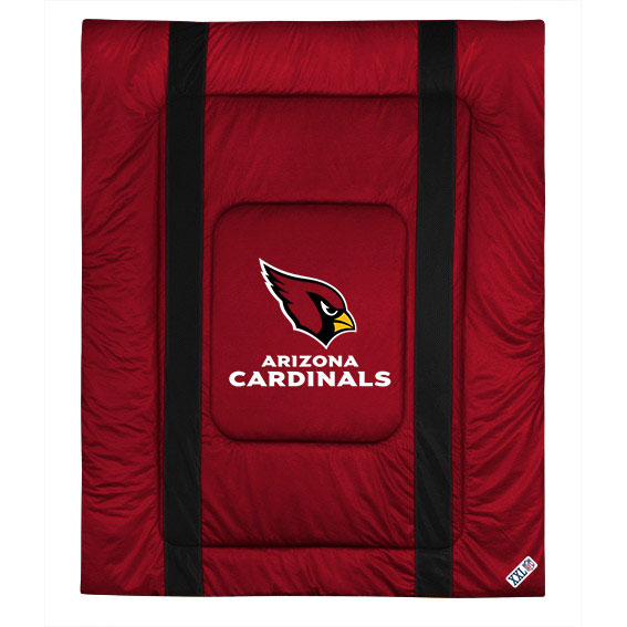 NFL NFL Arizona Cardinals Comforter Sidelines Football Bed