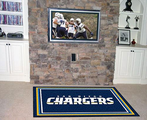 Charger | Accent | Diego | Floor | Large | Area | Mat | San | NFL | Rug