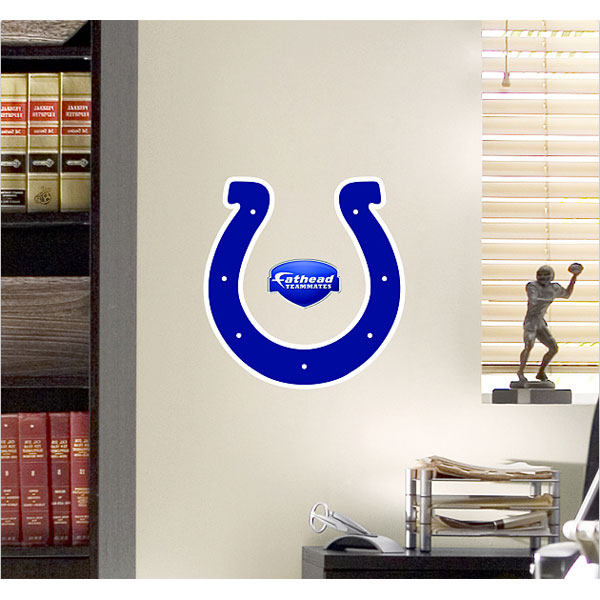 NFL Indianapolis Colts Teammate Logo Wall Sticker Decal Fh89-00014 FH89-00014