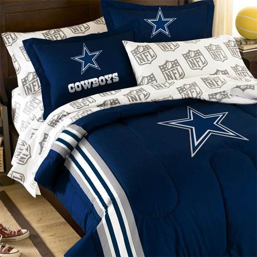 San Diego Chargers Bedding Sets: Dallas Cowboys Bedding Set
