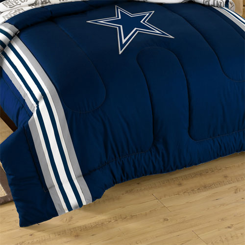 nfl dallas cowboys comforter set football blanket shams bedding decor