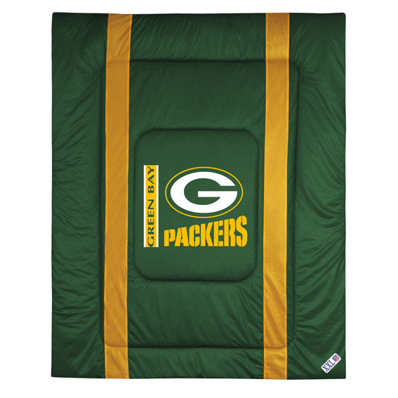NFL NFL Green Bay Packers Comforter Sidelines Football Bed