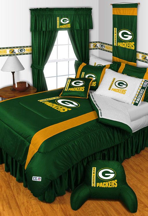 Green Bay Packers Bedding Queen Size