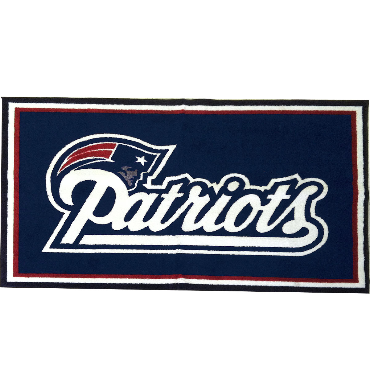 Make A Lasting Impression On Your Guests With Large Area Rug Adorning Favorite Football