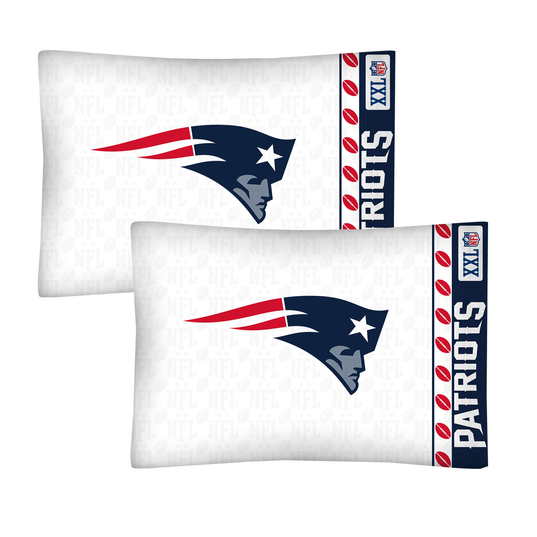 NFL New England Patriots Football Set of Two Pillowcases at Sears.com