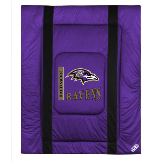 NFL NFL Baltimore Ravens Comforter Sidelines Football Bed